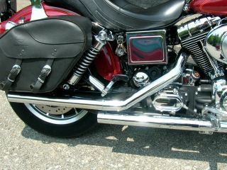 Motorcycle straight pipe
